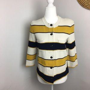 Ann Taylor button down sweater jacket